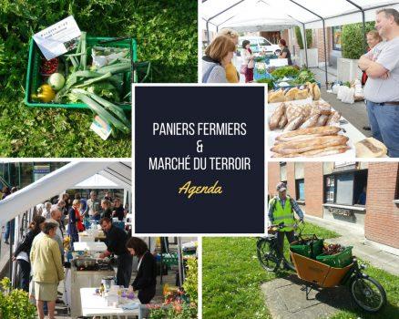 Dates Paniers Fermiers & Marché du terroir – 2018
