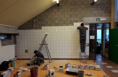 Les aménagements avancent au Hall du Terroir de Mouscron