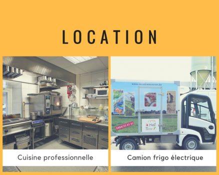 Location cuisine et camion