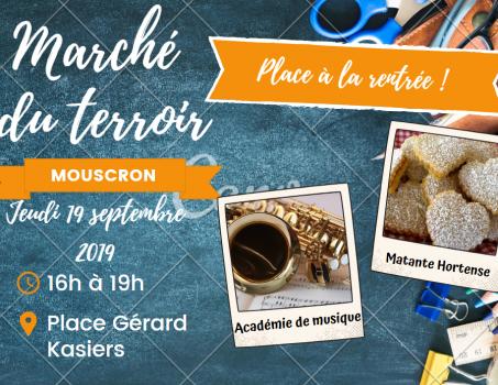 Marché du terroir – 19 septembre 2019