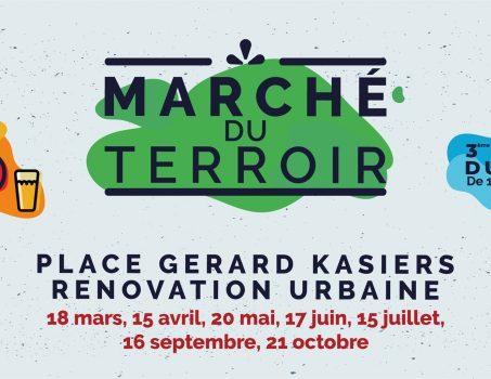 Le Marché du Terroir est de retour à Mouscron ! – 8e saison 2020