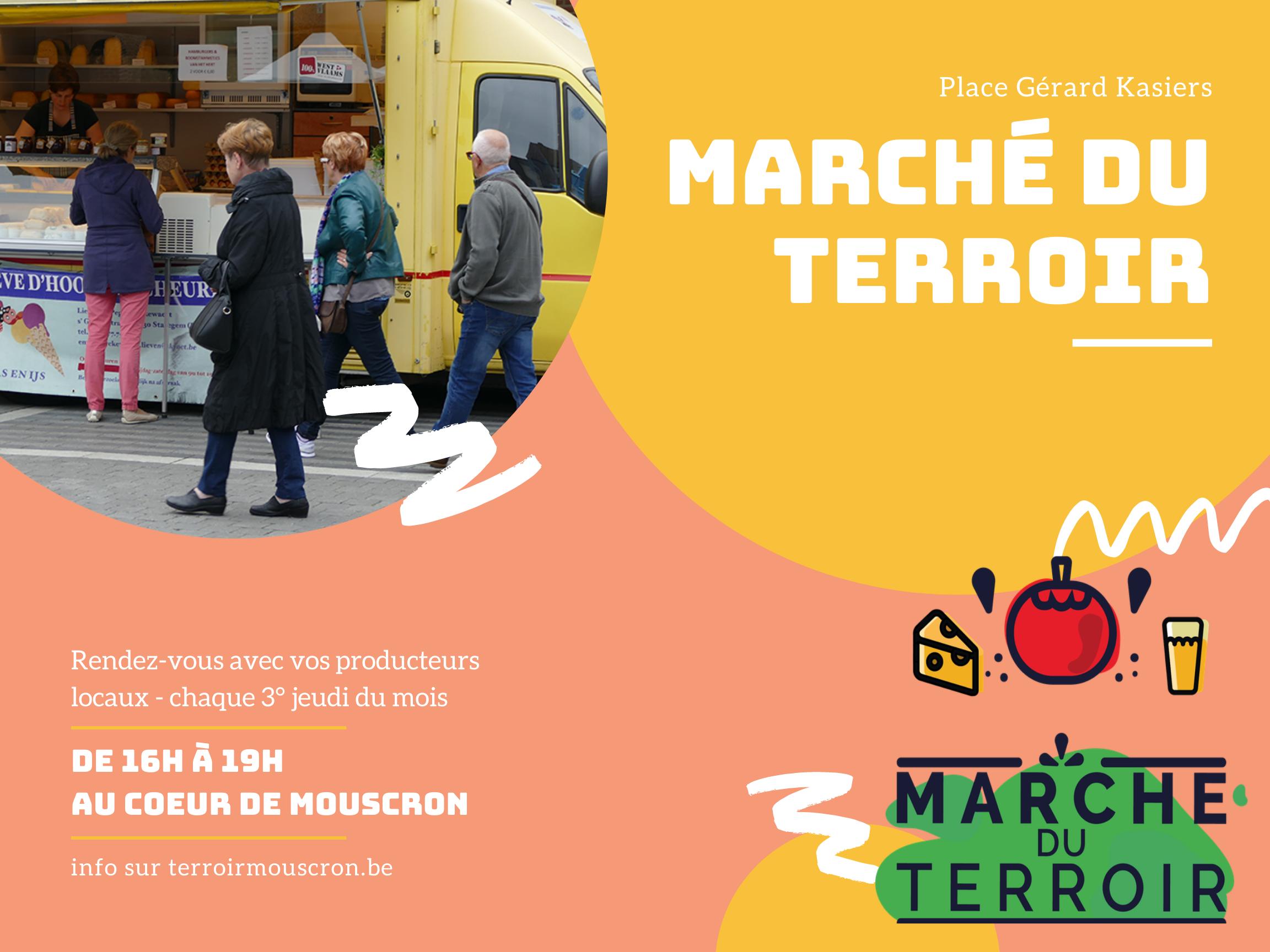17 juin 2021 – Marché du Terroir au coeur de Mouscron.